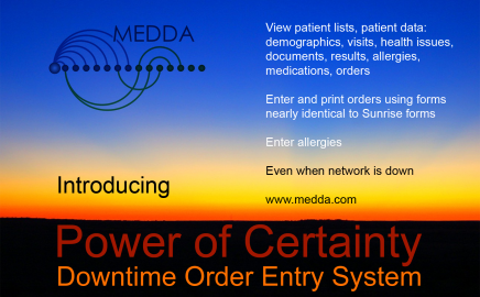 Downtime Order Entry